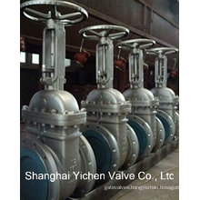 Manual Operated Flanged Cast Steel Gate Valve