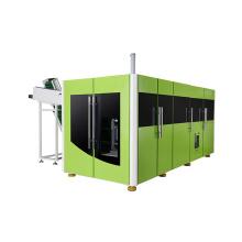 Vollautomatische Maschine zur Herstellung von Kunststoffflaschen