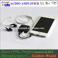 amplificador de auriculares recargable amplificador de batería recargable amplificador