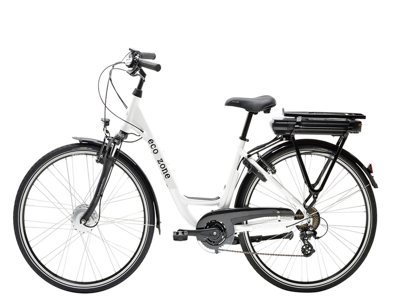 Low noise, long life lithium electric bicycle