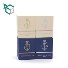 Rigid cardboard New style Good Price custom made candle packaging paper gift box from China manufacturer