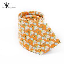 Promoção de boa qualidade Dragon Fly gravata de poliéster Men Tie
