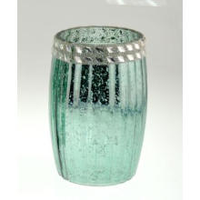 New Fashion Electroplated Glass Candle Holder