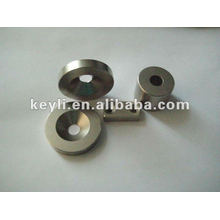 10 mm de diámetro x 5 mm de espesor x 3,2 mm c / fregadero Imán de neodimio - 2,4 kg Tirar (Norte)