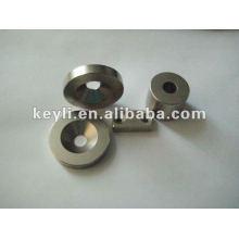 10mm de diamètre x 5mm d'épaisseur x 3.2mm c / évier Aimant de néodyme - 2.4kg Pull (Nord)