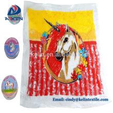 Runde komprimierte Handtücher magische Handtuch