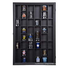 Black 17x21 Inch Custom Wooden 3D Deep Shadow Box Display Case Wall Mounted Room Boxes Shelves For Home Decoration