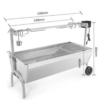 Gril barbecue jetable Backyard Bbq Grill