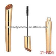 Plastic Cosmetics packaging Golden Mascara Packaging Tubes