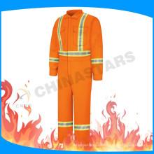FR cinta traje de seguridad traje de cubierta ignífuga para el campo de petróleo