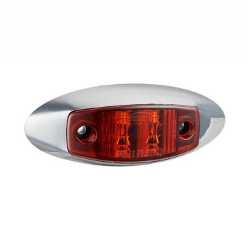 Red Truck Marker Lights Dengan Chrome