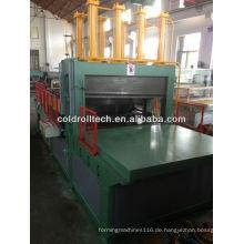 Gewölbte Flosse, die Maschine für die Wellpappenherstellung des Transformators bildet