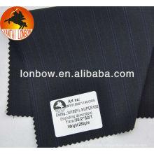 wholesale Super100 stock pure wool men's suit fabric