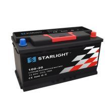 Batterie de voiture au lithium 12.8V 100-20 LiFePO4