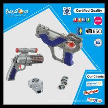 Juguete promocional del niño del artículo caliente con el juguete del arma del espacio ligero