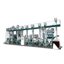 30-40TPD completa mini planta de molino de arroz completamente automática