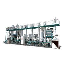 30-40TPD completa totalmente automática mini fábrica de arroz