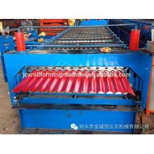 Hoja de techo de acero de color que hace la máquina de China