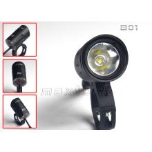 Luz da bicicleta do diodo emissor de luz de Maxtoch B01 26650