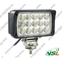 12V 24V 6′′ 45W LED Work Light with Spot Beam & Flood Beam for Agricultural Machinery, Truck, Boat