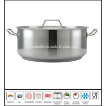 Stainless Steel Low Casserole Cookware