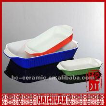 Black ceramic baking tray, microwave bake tray