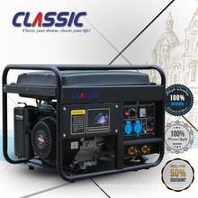 CLASSIC(CHINA) Reliable 5kw Gasoline Welding Generator, Fuel Save 15hp Gasoline Generator