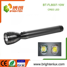 Preiswertes Großhandelsqualitäts-Aluminiumlegierung 10w bestes helles Fackel-Licht leistungsstärkste nachladbare geführte Taschenlampe