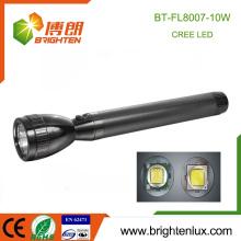 Cheap Wholesale Alliage d'aluminium de haute qualité 10w Best Bright Torch Light lampe de poche rechargeable la plus puissante