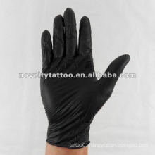 N201-30 Novelty Tattoo Disposable Black gloves