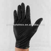 N201-30 Novelty Tattoo descartáveis luvas pretas