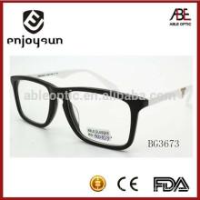 Marco óptico de las gafas del acetato unisex hecho a mano caliente con CE & FDA