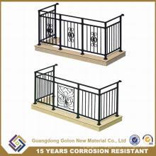 OEM&ODM Welcomed European Designs Wrought Iron Balcony Railings