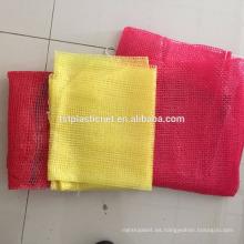 bolso plástico de la malla de las patatas de alta calidad y respetuoso del medio ambiente con precio del montón de c para la venta