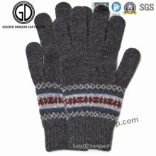 Fashion Winter Warm Lady Fashion Jacquard Acrylic Glove