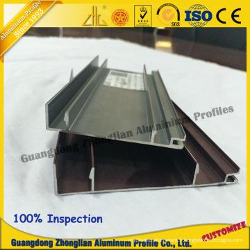 Chine Aluminium fabrique des plinthes profilées de cuisine