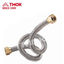 juntas de latão duplo tubo de ar condicionado de rosca interna
