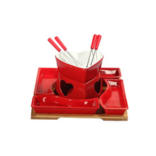Red Color Mini Hot Pot Set