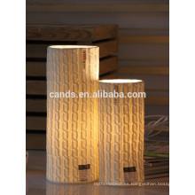 Lámpara de mesita de noche decorativa para el hogar