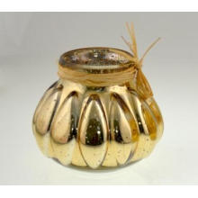 New Design Glass Candle Holder for Holilday