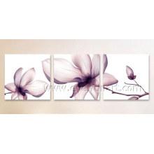 Pintura al óleo hecha a mano de alta calidad de la flor (Fl3-206)