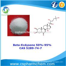 Beta-Ecdysone 95%, CAS 5289-74-7, 100% Extracto de la naturaleza