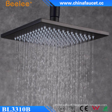 Casa de banho Rainfall 10 Inch Black Painted Stainless Mix Shower
