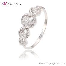 51454 Brazalete elegante de la joyería del diamante Rhodium CZ Fashion con para las mujeres