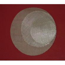 Acero inoxidable farmacéutico sinterizado filtro de disco de malla