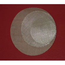 Malha de disco de filtro sinterizado farmacêutico de aço inoxidável