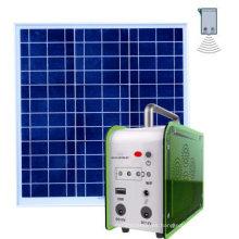 Sistema solar de luces LED para el hogar y el camping