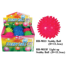 Funny Flashing Stubby Puffer Ball Toy