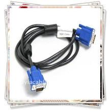 VGA mâle au câble mâle Moniteur M / M Connecte le PC ou l'ordinateur portable au projecteur, à l'écran LCD et à d'autres systèmes d'affichage vidéo