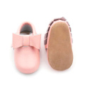 Baby Shoes Rose Bowknot Nouveau-né Baby Girl Mocassins